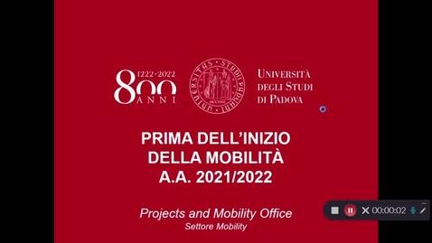 Thumbnail for entry Prima della mobilità Erasmus/SEMP