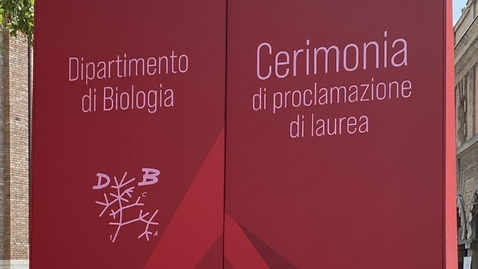 Thumbnail for entry Department of Biology graduation ceremony, 21/07/2021