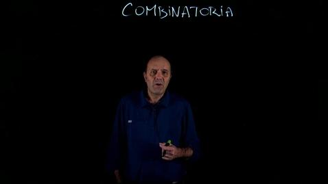 Thumbnail for entry CAMP-FAMP 2019/20 Lezione_20_0 -Preliminari di  combinatoria - 1