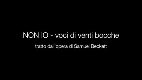Thumbnail for entry NON IO - voci di venti bocche