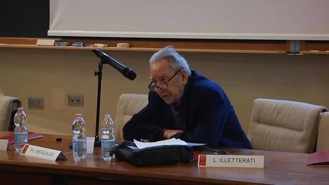 "Thumbnail for entry Pier Vincenzo Mengaldo: ""Primo Levi Scrittore"""