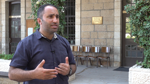 Thumbnail for entry Interview with Issa Amro, Human rights defender, July 2019