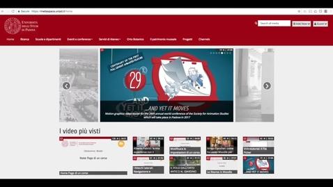 Istruzioni per il caricamento dei video sul canale dedicato agli assegnisti di ricerca (POR –FSE 2014-2020 Regione Veneto)