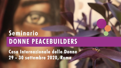 Thumbnail for entry Intervista a Gianna Urizio, Giornalista WILPF Italia