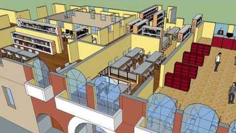 Thumbnail for entry Biblioteca Ca' Borin - Visita virtuale