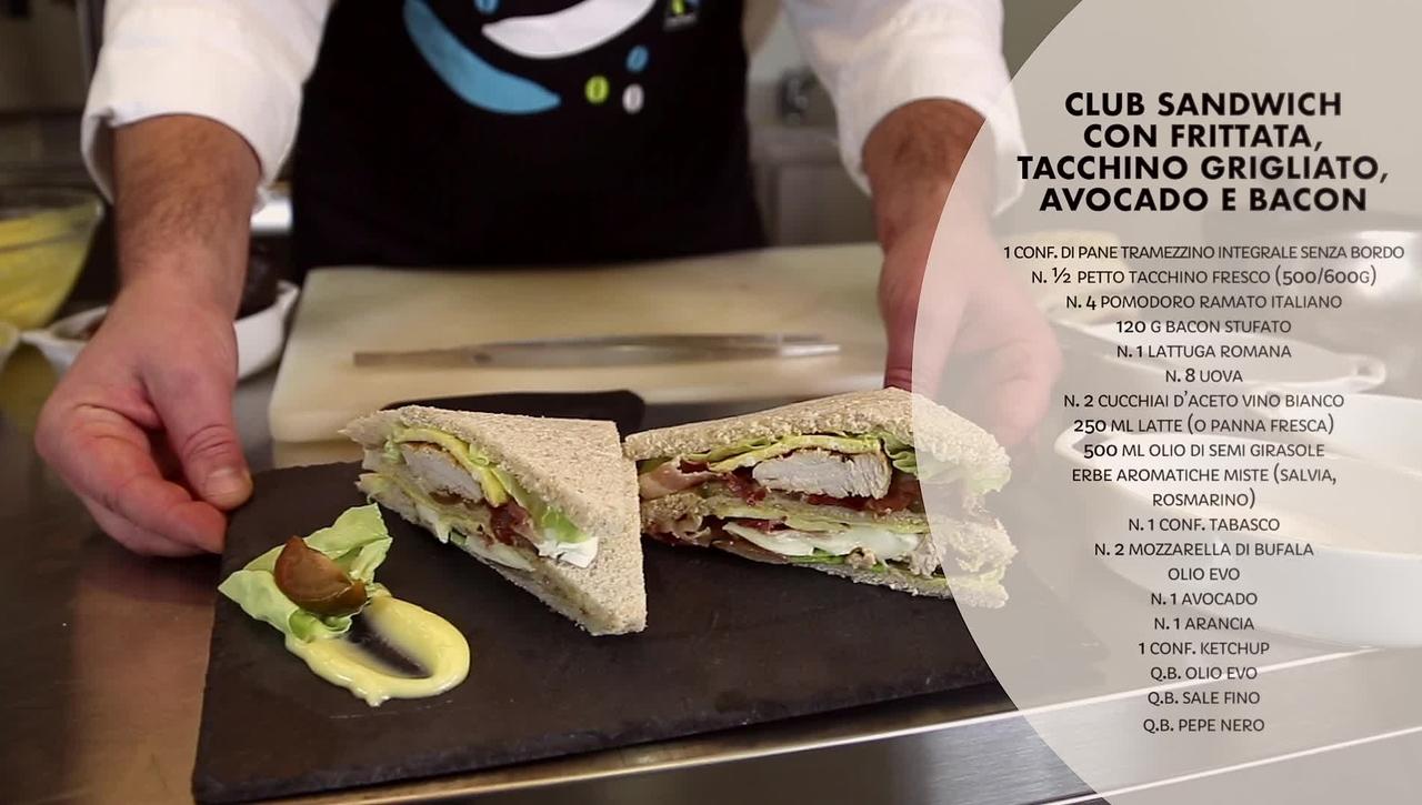 Educhef - Il club sandwich di Fabrizio Rivaroli
