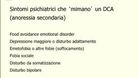Thumbnail for entry Anoressia nervosa, somatizzazione, o disturbo su base organica? Un caso complesso.