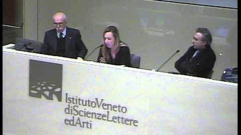 Thumbnail for entry Nuove forme di vita? Istituto Veneto di scienze, Lettere e Arti 2009