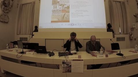 Thumbnail for entry Prima Giornata di studio sulle Leggi razziali. La persecuzione razziale in Italia 1938-45