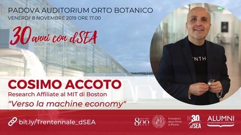 Thumbnail for entry 'Verso la machine economy'