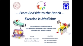 Thumbnail for entry …From Bedside to the Bench… Exercise is Medicine