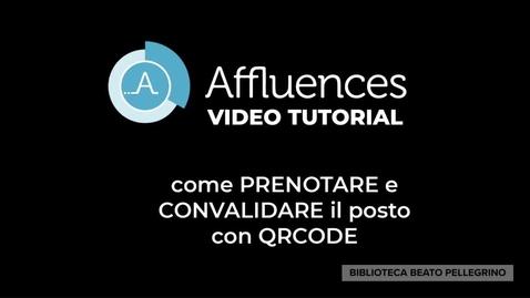 Thumbnail for entry Prenotazione in biblioteca con Affluences