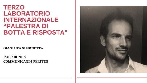 Thumbnail for entry Gianluca Simonetta - Puer bonus communicandi peritus