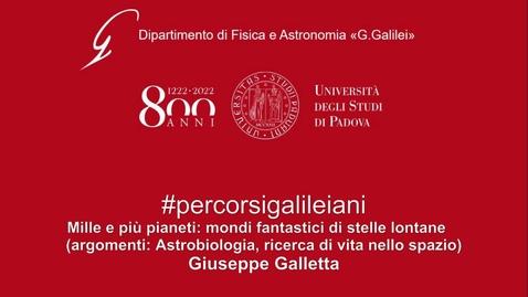 Thumbnail for entry Mille e più pianeti: mondi fantastici di stelle lontane. (2020)
