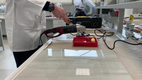 Thumbnail for entry Sviluppo e produzione di materiali innovativi: studio morfologico e chimico di prodotti e superfici (cod. 2105-0057-1463-2019) - video 2