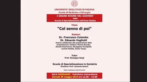 Thumbnail for entry Col senno di poi