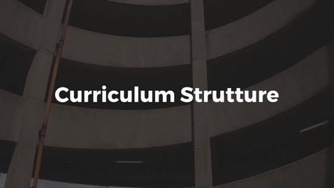 Thumbnail for entry Presentazione del Curriculum Strutture