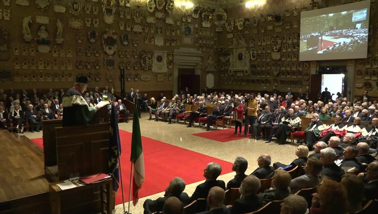 Laurea ad honorem a Francesco Canella