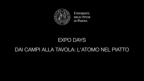 Thumbnail for entry L' ATOMO NEL PIATTO