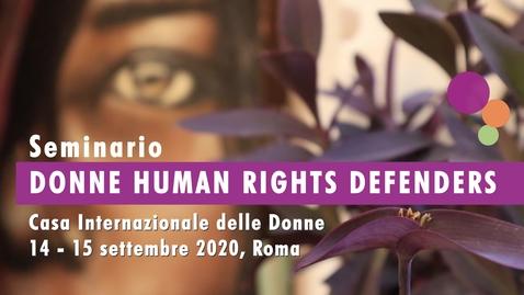 Thumbnail for entry Intervista a Laura Greco, Presidente Associazione A Sud