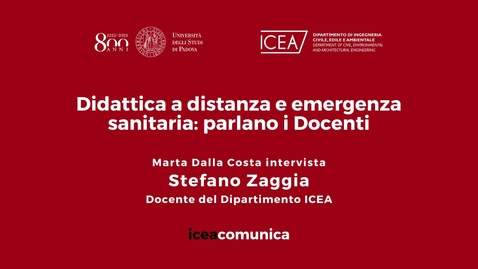Thumbnail for entry Iceacomunica intervista il Professore Stefano Zaggia