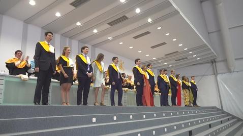 Miniatura para la entrada Acto de Graduación - Facultad de Ciencias Económicas y Empresariales (Comillas ICADE) - Curso 2018/19
