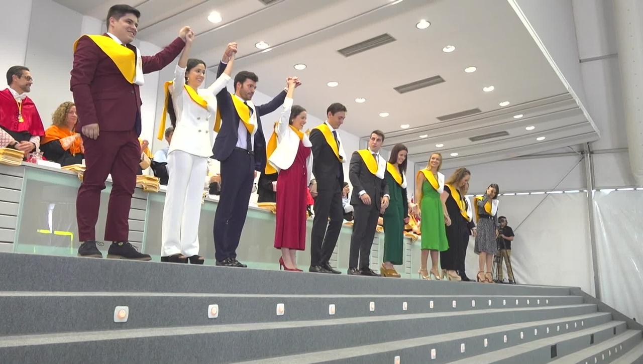 Acto de Graduación - Másteres Universitarios - Sábado 15 Junio 11h