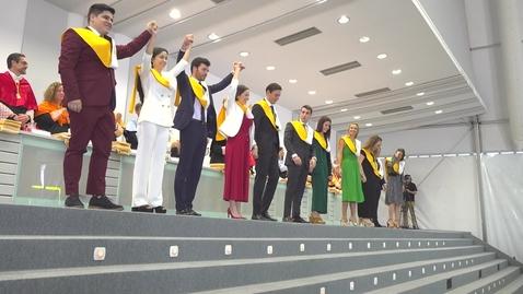 Miniatura para la entrada Acto de Graduación - Másteres Universitarios - Sábado 15 Junio 11h