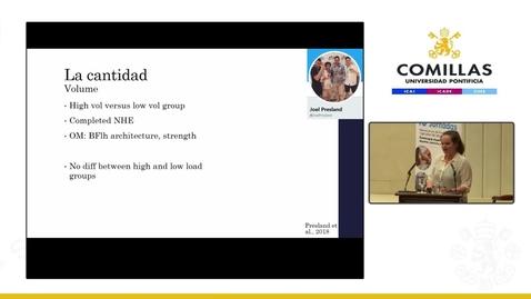 """Miniatura para la entrada X Jornadas de Fisioterapia. """"Fisioterapia Deportiva: Deporte, Ejercicio y Salud."""" 1º Parte, Sesión de Mañana. 1/04/2019"""