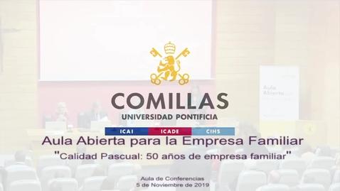 Miniatura para la entrada Calidad Pascual: 50 años de empresa familiar 05-11-2019