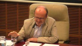 """Miniatura para la entrada D. Juan Antonio Marcos Rodríguez, OCD. """"A oscuras y segura"""": La Noche de Juan de la Cruz.  Aula de Espiritualidad Pedro Fabro.  28/02/2019"""