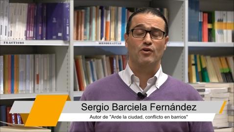 """Miniatura para la entrada Entrevista completa a Sergio Barciela, autor de """"Arde la ciudad"""""""