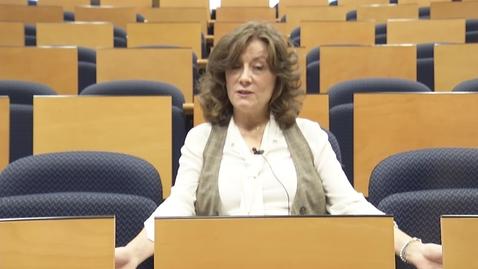Miniatura para la entrada D.ª Cristina Gortazar. Asignatura: La perspectiva política jurídica de la migraciones internacionales