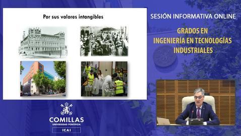 Miniatura para la entrada Sesión Informativa Online Grados Ingeniería Industrial 27.11.20