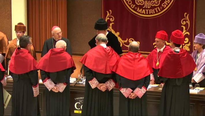 Acto Solemne de Investidura de Doctor Honoris Causa.  14/11/2018