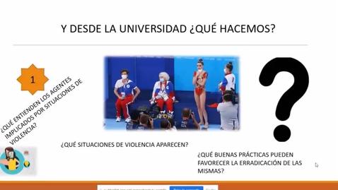 """Miniatura para la entrada Ciclo de Jornadas """"La Ley integral de Protección a la Infancia y la Adolescencia frente a la Violencia"""".  20/10/2021. (1º Parte)"""