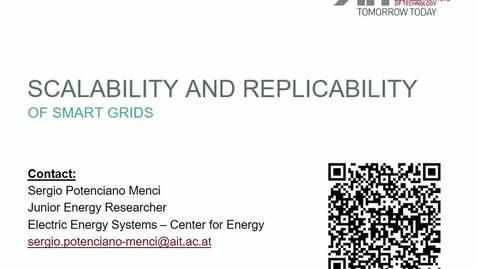 Miniatura para la entrada Seminario divulgativo Sergio Potenciano 02/10/2019: Scalability and Replicability of Smart Grids