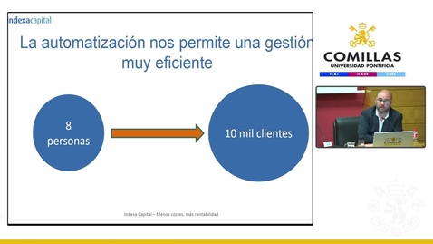 Miniatura para la entrada Experiencias emprendedoras- Indexa Capital.  21/05/2019