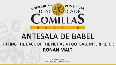 Miniatura para la entrada Antesala de Babel -  Ronan Malt