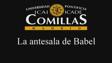 Miniatura para la entrada Antesala De Babel 29 ene 2014
