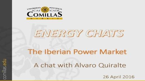 Miniatura para la entrada Energy Chats. Entrevista con Alvaro Quiralte. Impacto de las renovables en la rentabilidad de los Ciclos Combinados. 26/04/2016