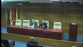 """Miniatura para la entrada Prof. D. Pedro Zamora García. """"Propósito liberador del """"rigorismo"""" deuteronómico.""""  Aula Alonso Schökel.  16/01/2014"""