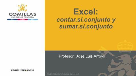 Miniatura para la entrada Excel-2-Funciones Contar.si.conjunto Sumar.si.conjunto