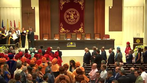 Miniatura para la entrada Acto solemne de Apertura. Curso 2018/2019.
