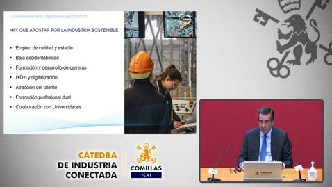 """Miniatura para la entrada Cátedra de Industria Conectada. """"La persona en el centro"""" Digitalización Post COVID-19.  3/11/2020"""