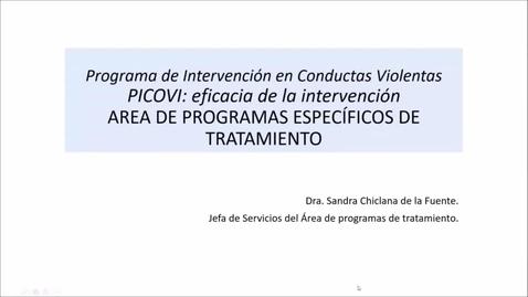 """Miniatura para la entrada """"La aplicación de la evidencia científica en el tratamiento penitenciario y en las medidas comunitarias.""""   15/04/2021"""