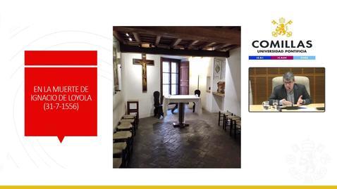 """Miniatura para la entrada P. Javier Cía Blasco, SJ. """"El P. Diego Laínez, sucesor de san Ignacio de Loyola"""". Aula de Espiritualidad Pedro Fabro. 27/02/2020."""