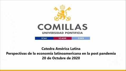 Miniatura para la entrada 20-10-2020 Cátedra América Latina