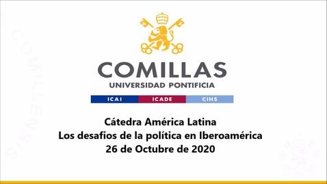 Miniatura para la entrada 26-10-2020 Cátedra América Latina