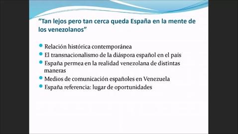 Miniatura para la entrada Seminario OBIMID: Inmigración venezolana en España